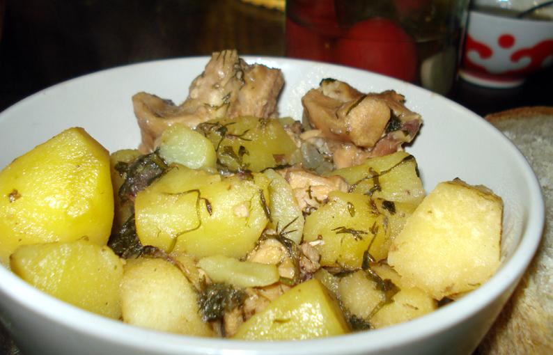 Рецепт зайца в духовке с картошкой